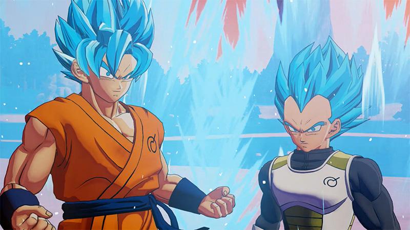 Dragon Ball Z Kakarot A New Power Awakens Set Nintendo Switch E3 2021 goku vegeta