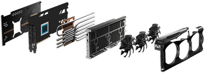 EVGA GeForce RTX 3080 Ti - RTX 3070 Ti interior