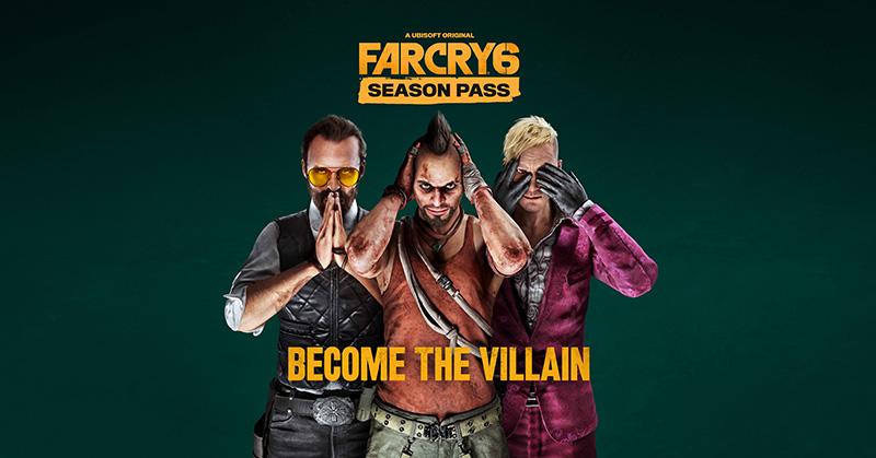 Todo este contenido tendrás con el Pase de Temporada de Far Cry 6