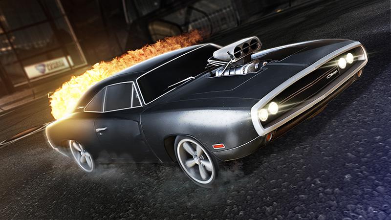 Fast & Furious Rocket League 2021 Dodge Charger