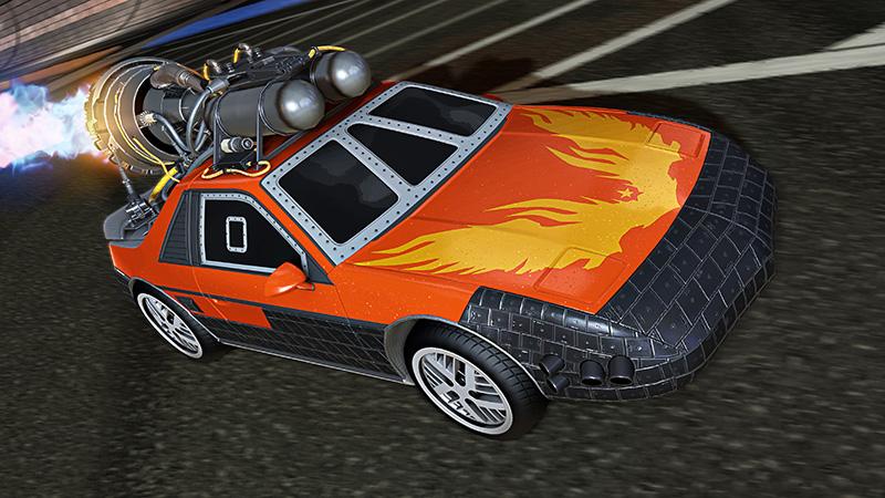 Fast & Furious Rocket League 2021 Pontiac Fiero