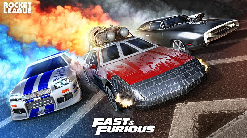 Los clásicos autos de Fast & Furious regresarán a Rocket League