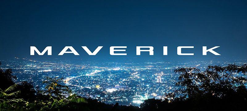 Ford Maverick logo presentacion