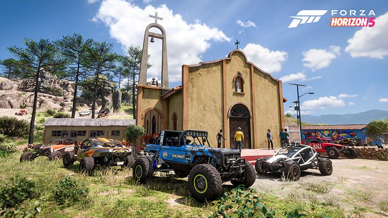 Forza Horizon 5 E3 2021 iglesia