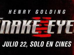 GI Joe Snake Eyes poster logo