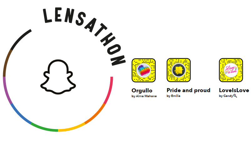 Los ganadores del primer Lensathon que celebra a la comunidad LGBTI+
