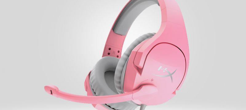 HyperX Cloud Stinger en rosa