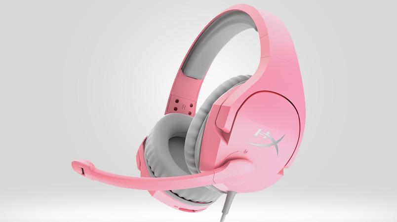 HyperX Cloud Stinger ahora están disponibles en color rosa
