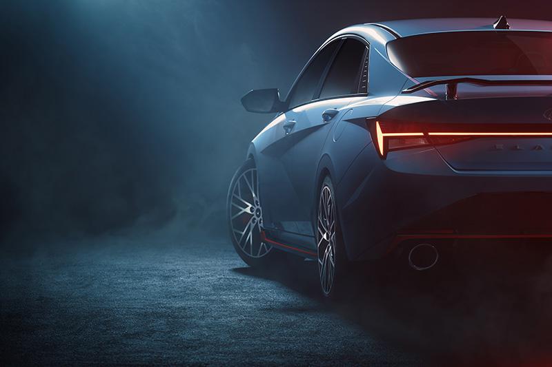 Hyundai Motor Company presenta las primeras imágenes de Elantra N