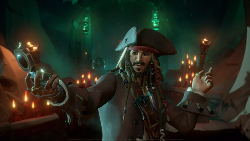 Jack Sparrow Sea of Thieves A Pirates Life