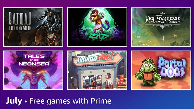 Juegos Prime Gaming julio 2021