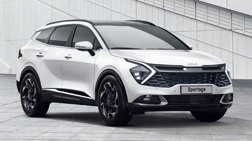 KIA presenta el nuevo diseño de la quinta generación de KIA Sportage