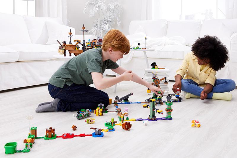 LEGO Mario LEGO Luigi modo dual