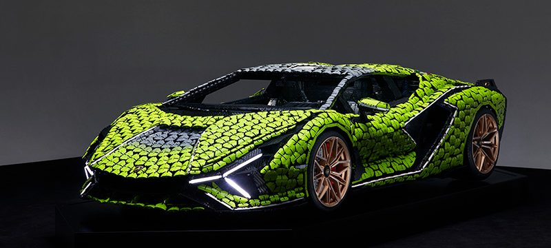 Lamborghini Sián FKP 37 LEGO Technic