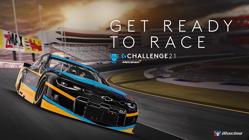 Logitech McLaren G Challenge anuncio 2021