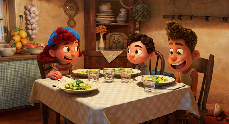 Luca datos Disney Pixar Enrico Casarosa