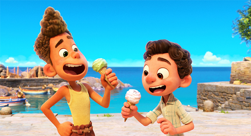 Luca datos Disney Pixar Luca Alberto