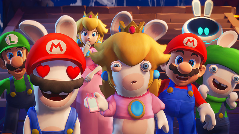Mario + Rabbids Sparks of Hope 2022