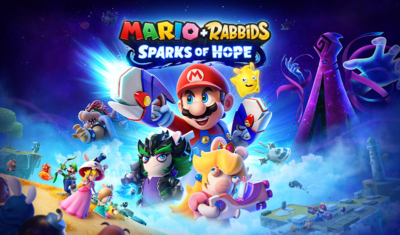 Mario + Rabbids Sparks of Hope llegará a Nintendo Switch en 2022