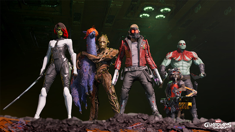 Marvels Guardians of the Galaxy Guardianes