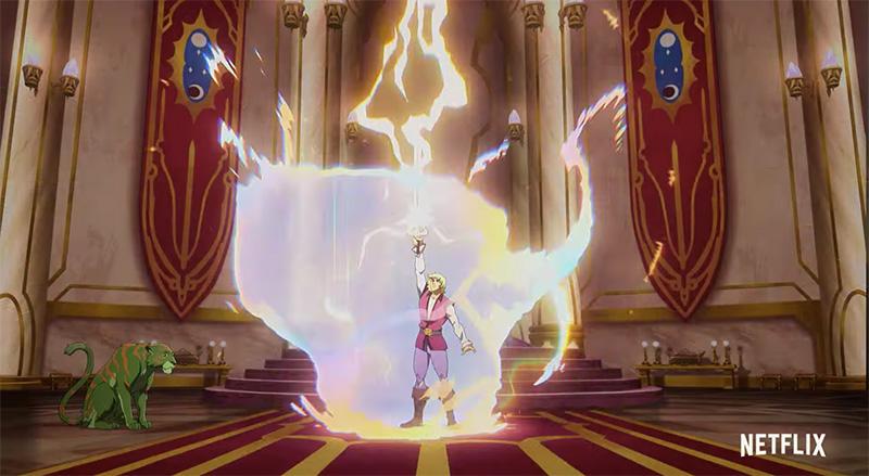 Masters of the Universe Revelation adam espada
