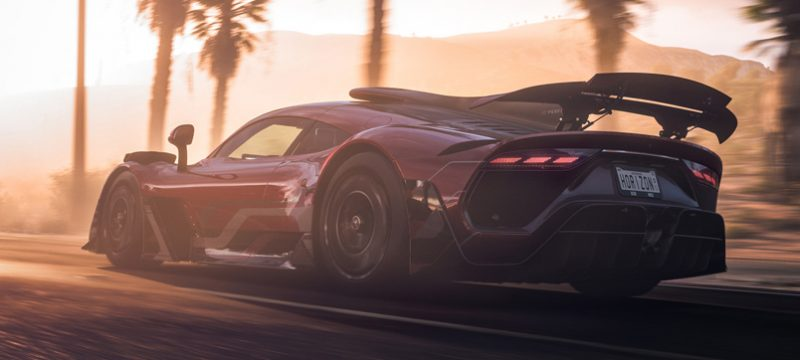 Mercedes-AMG Project ONE demo Forza Horizon 5