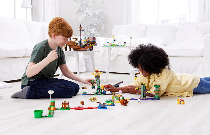 LEGO permite jugar con LEGO Mario y LEGO Luigi al mismo tiempo