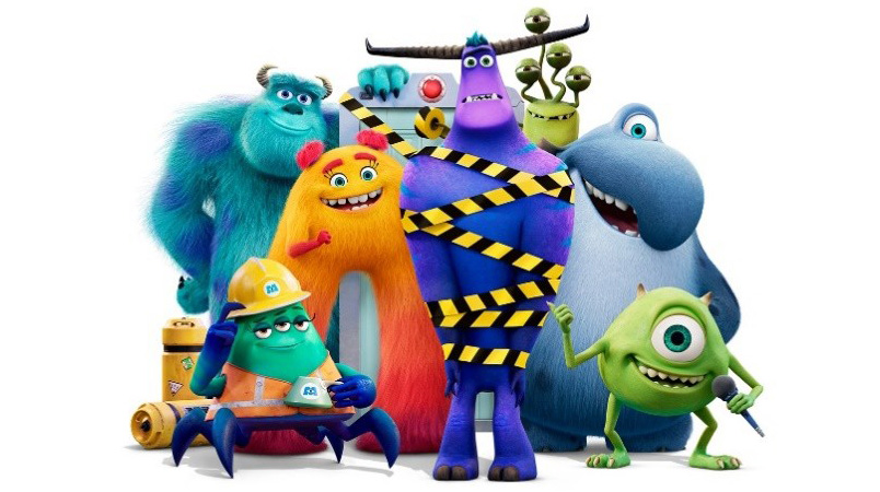 Monsters At Work personajes