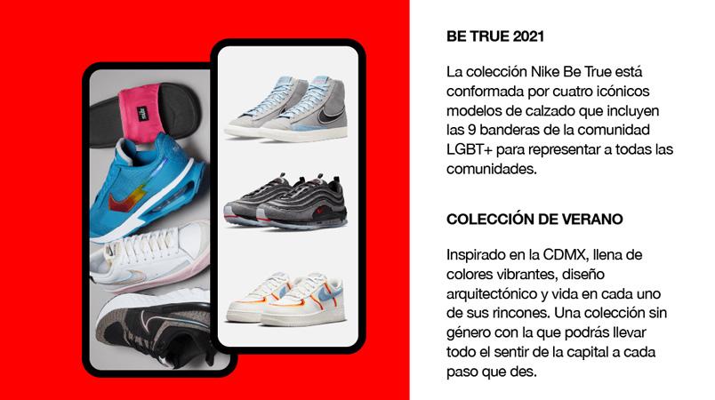Nueva Nike App Mexico beneficios