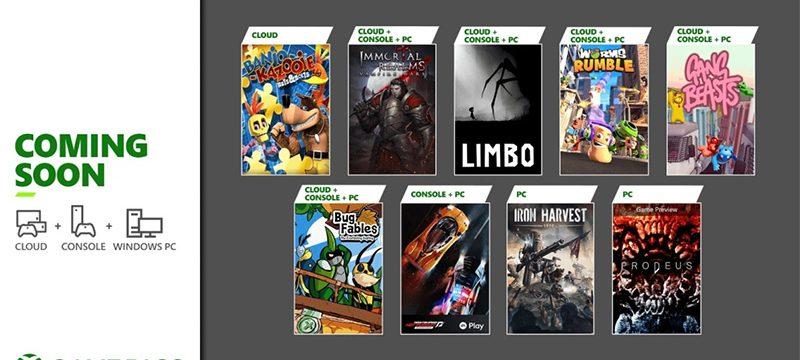 Nuevos Juegos Xbox GAme Pass junio 2021
