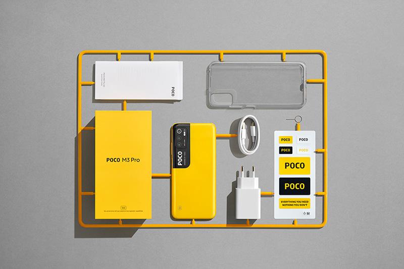 POCO M3 Pro 5G unboxing