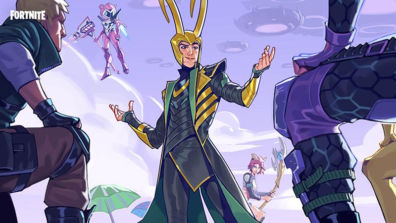 Pantalla de carga Loki Laufeyson Fortnite
