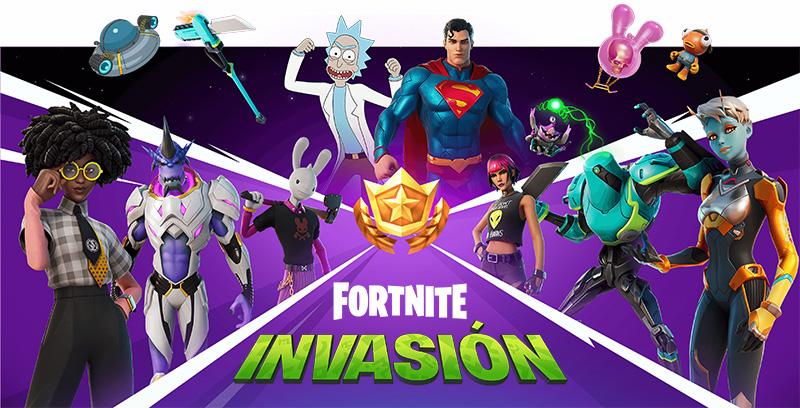 Contenido del Pase de Batalla del Capítulo 2, Temporada 7: Invasión