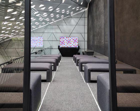 Sala LG OLED Cineteca Nacional Mexico pantalla