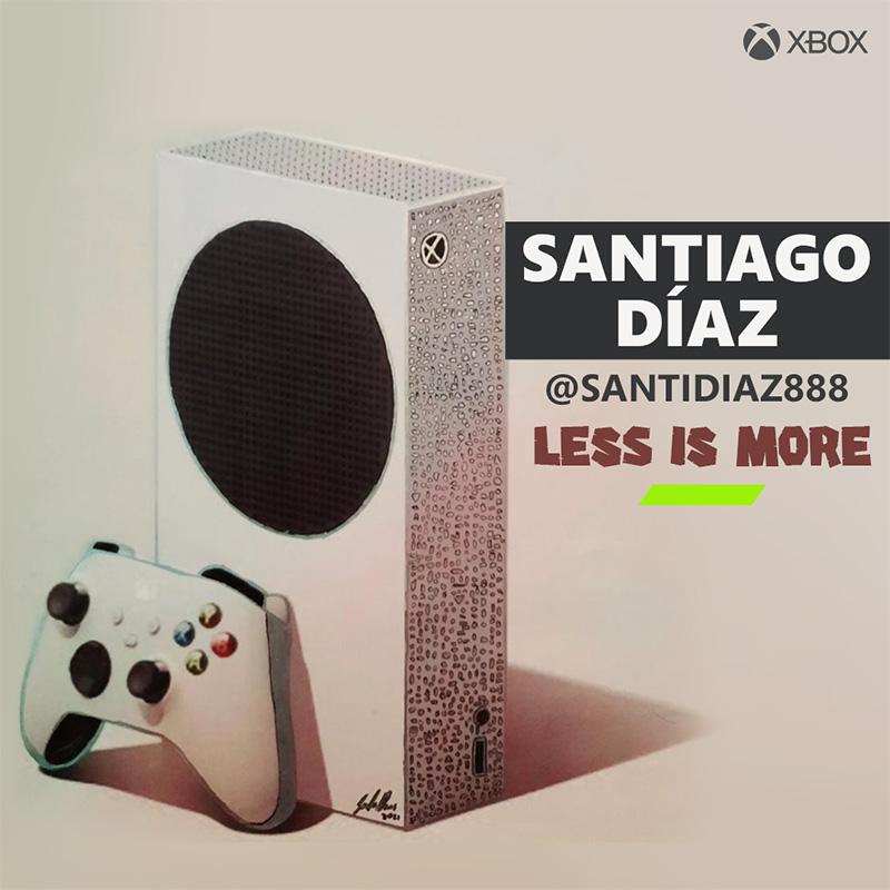 Santiago Diaz Guichon Xbox Series S