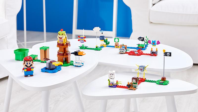 Sets de Expansion y personajes de LEGO Super Mario 2021