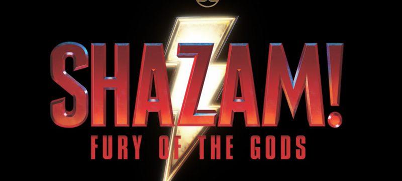 Shazam 2 Fury of the Gods logo