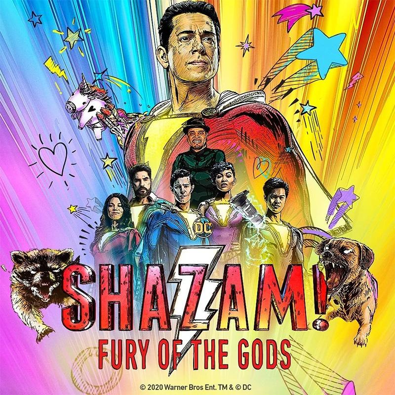 Shazam 2 Fury of the Gods poster