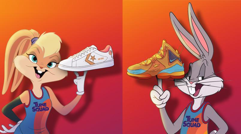 Nike y Converse presentan ropa y tenis de Space Jam: A New Legacy