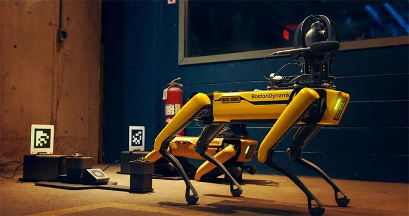 Spot Boston Dynamics Hyundai