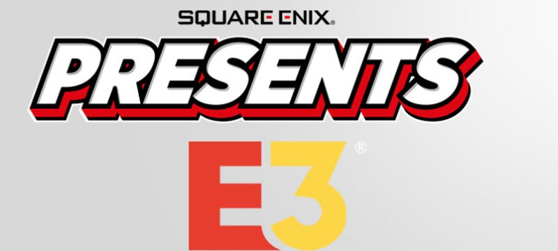 Square Enix Presents E3 2021 logos