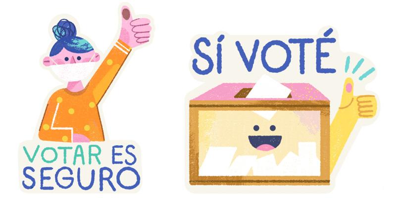 Stickers Instagram Elecciones 2021 Mexico