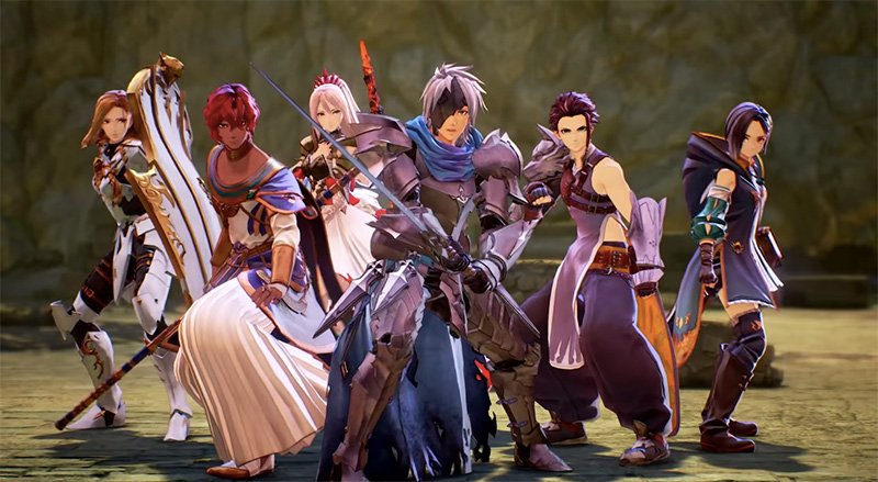 Tales of Arise Summer Game Fest 2021 team
