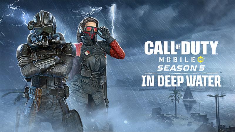 Nuevos mapas de Call of Duty: Mobile Temporada 5: In Deep Water
