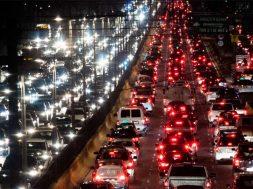 Trafico ciudad Carpool