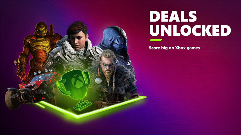 Xbox Deals Unlocked; la promoción de verano que no debes perderte