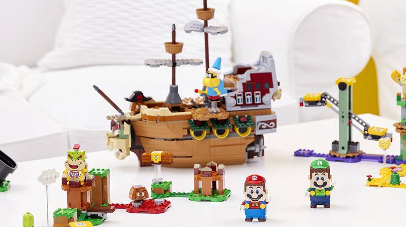 Los cuatro nuevos Sets de Expansión y packs de LEGO Super Mario