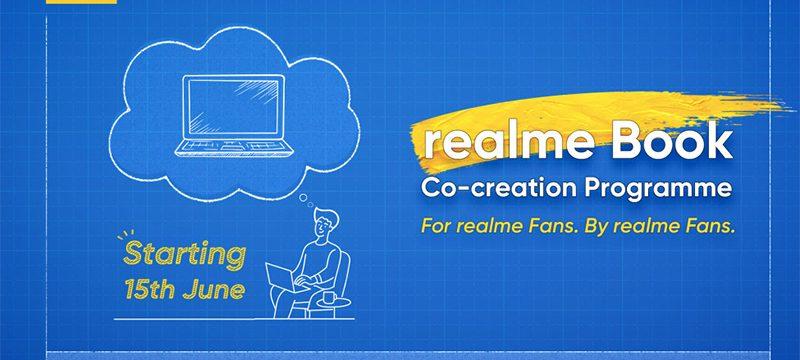programa co-creacion realme Book