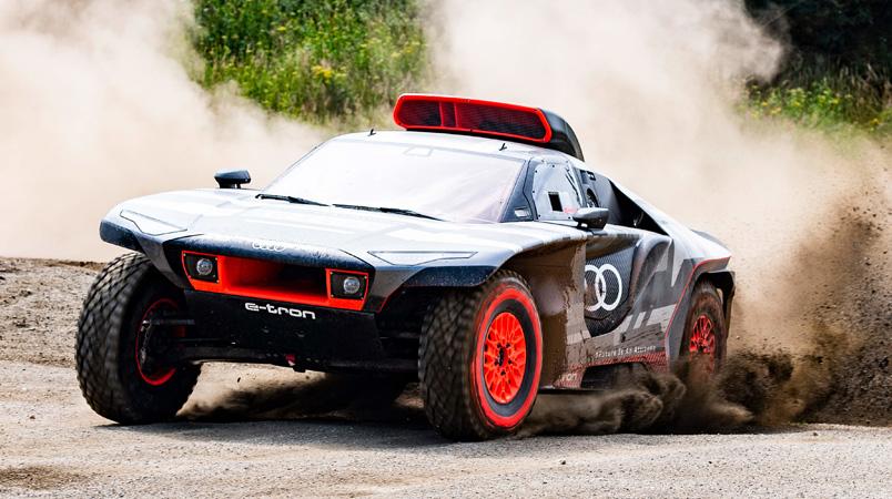 Audi RS Q e-tron el nuevo vehículo eléctrico para el Rally Dakar 2022