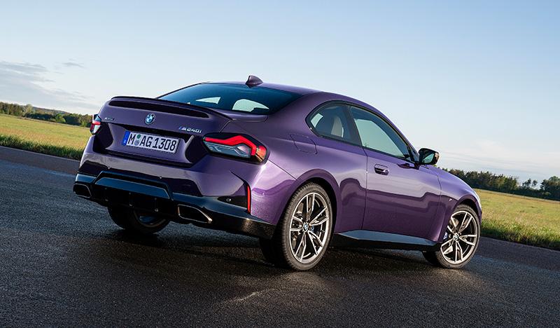 BMW Serie 2 Coupé 2022 trasera